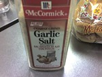 Garlic Salt (Garlic Powder recommended)