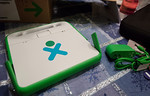 OLPC XO-1 and Charger
